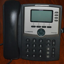 Unlocked Cisco Linksys SPA942 SPA 942 4-line SIP IP Phone W/ Desk Stand