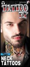 Tigre Cuello Tatuaje Fx Temporal