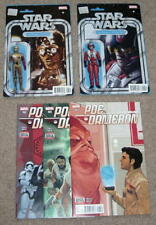 "Star Wars: Poe Dameron (#1-4) & ""C-3PO: The Phantom Limb"" Comic Lot - Marvel"