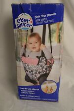 Baby Evenflo Exersaucer Door Jumper Jumpy Bouncy Seat Swing Pink Star Power