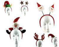 Christmas Headband Adult Kids Xmas Party Hat Costume Novelty Hair Clip