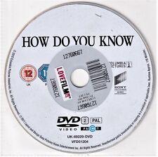 How Do You Know DVD