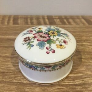 Coalport Ming Rose Trinket Box