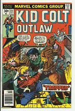 Kid Colt Outlaw #211 - VF/NM 9.0 - Bronze Age Marvel Western Comic Book