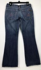 """Women's Seven For All Mankind Jeans Sz.30 Style A Pocket Boot Cut  31""""inseam"""