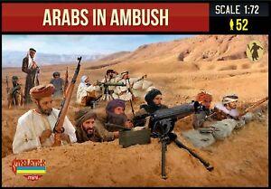 Strelets 1/72 Arabs in Ambush WWI # M149
