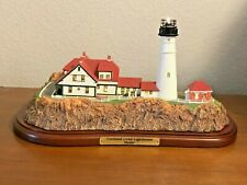 """Portland Head Lighthouse by The Danbury Mint Collectible 15"""" Long from 1994"""