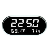 LCD Digit Alarm Clock Calendar Thermometer Temperature Hudimity 24H Display