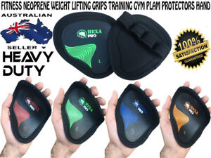 NEW Fitness Neoprene Weight Lifting Grips Training Gym Palm protectors hand