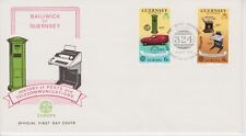 Unaddressed Guernsey FDC First Day Cover 1979 Europa Telecommunications