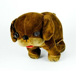 VINTAGE MERRYTHOUGHT HYGENIC TOYS DINKIE DOG CHARACTER SOFT TOY BEAR, 24cm