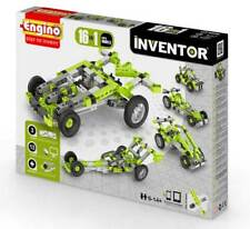 Engino Baukasten 16 Autos Inventor für Kinder NEU interaktiv auf Handy u. Tablet