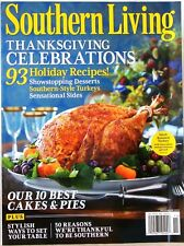 Southern Living THANKSGIVING CELEBRATIONS Magazine 93 Holiday Recipes 10 BEST