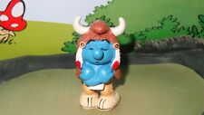 Smurfs Medicine Man Smurf 20554 American Indian Rare Vintage Display Figurine