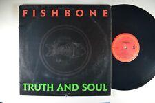 FISHBONE Truth and Soul ROCK LP ORIGINAL PROMO DMM Precision INNER NM/M