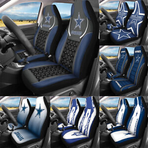 Dallas Cowboys Universal Fit Car Front Seat Covers Auto Cushion Protector 2PCS
