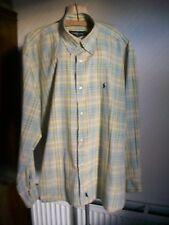 Ralph Lauren 100% Cotton Long Sleeve Check Shirt, Size XL
