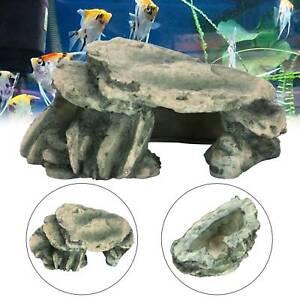 Aquarium Resin Decoration Colorful Cave Mountain Rockery for Fish Tank Rock UK