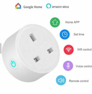 Smart Plug WiFi Remote Control Plug For Amazon Alexa Google Home Tuya Smart Life