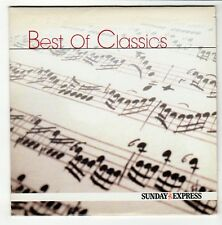 (GO529) Best of Classics, 17 tracks - 2002 Sunday Express CD