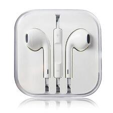 New Headphones Earphones With Remote & Mic For Apple iPhone 4,5,6, iPod 1-6