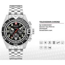Swiss Military Hanowa Challenge Touchdown Chrono Quartz Watch Black Day