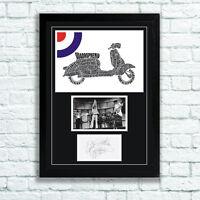The Who Quadrophenia Memorabilia Autographs and Poster Pete Townshend MOD