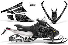 Arctic Cat F Series Sled Wrap Snowmobile Graphics Kit Stickers Decals HAVOC SLVR