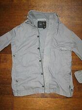 G-STAR  Mooie katoenen jas met rits en knopen (heren).  Maat L.