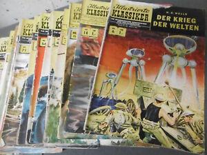 BSV: 18 x ILLUSTRIERTE KLASSIKER Comic Hefte (diverse Auflagen)  [3788]