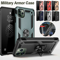 Case For iPhone 12 11 Pro Max XR XS X 7 8 SE 2 Hybrid 360 Shockproof Armor Cover