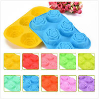 Silicone Chocolate Mould Tray Round Icing Sugar Craft Cake Jelly Baking Ice Mold