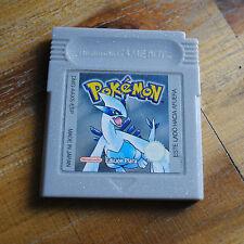 Jeu POKEMON EDICION PLATA (SPANISH VERSION) pour Nintendo Game Boy NEW BATTERY