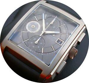 Maurice Lacroix - Pontos - Réctangulaire - TITAN - Chronograph; 3.200,- EUR