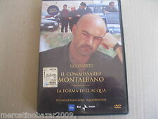 IL COMMISSARIO MONTALBANO La Forma Dell'Acqua (2000) DVD ORIGINALE USATO