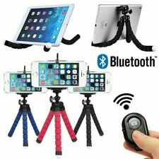 Universal Mobile Phone Holder Tripod Stand For iPhone Camera Samsung with Remote
