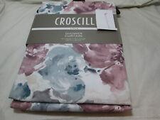 """Croscill  LYLA Floral Cotton Shower Curtain 72""""x72"""" Multi Color NEW"""