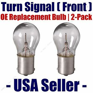 Front Turn Signal/Blinker Light Bulb 2pk - Fits Listed Sterling Vehicles - 1156