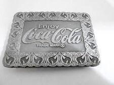 1970s VINTAGE BELT BUCKLE #05- 009 - COCA-COLA SODA #4