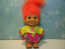 "I'M A BIG SISTER - 5"" Russ Troll Doll - NEW IN ORIGINAL WRAPPER"