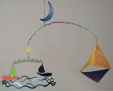 Q3 Art Gone Sailin' Hanging Baby Mobile Nursery Decor