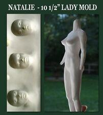 "NATALIE 10 1/2"" ELEGANT LADY PRESS MOLD, SEXY BODY by Patricia Rose"