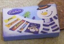 1:12 vuoto nello stabilimento della Cadbury pupazzo di neve selezione pacchetto DOLLS HOUSE miniatura Accessorio