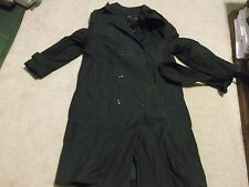 US ARMY  WOMAN'S ALL-WEATHER COAT W/LINER SIZE 18S