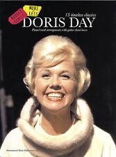 Doris Day Timeless Classics Play Que Sera Sera Piano Vocal & Guitar Music Book