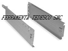 CASSETTO ULTRABOX COPPIE DI SPONDE CON GUIDE LATERALI H.118MM X CM 50 LUNGHEZZA