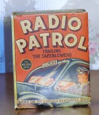 Vintage Big Little Book Radio Patrol Trailing the Safeblowers Great!