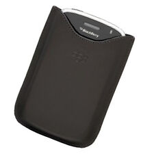 OEM NEW Blackberry BOLD 9000 Brown Leather POCKET Sleeper Pouch Case GENUINE