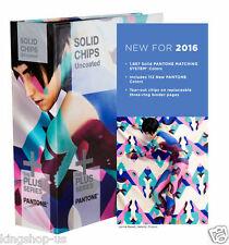 NEW PANTONE 2016 GP1606N Solid Chips Plus Series UNCOATED BOOK ONLY