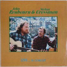 JOHN RENBOURN & STEFAN GROSSMAN: Live in Concert USA Folk LP